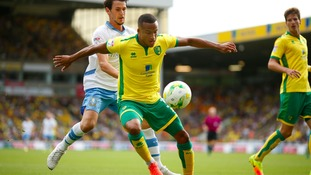 Martin Olsson is staying at Carrow Road.
