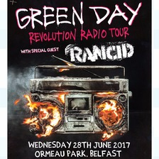 Green Day have announced a gig in Belfast.