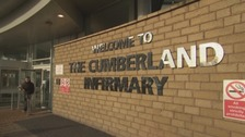 The Cumberland Infirmary in Carlisle.