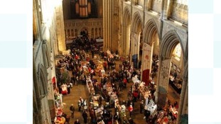Visitors flock to Christmas fair