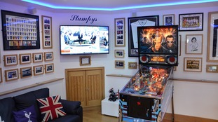 Father who spent four years building Spurs tribute is crowned winner of Britain's best man cave