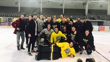 Justin Bieber takes to the ice in MK for pre-concert session