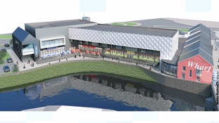 Plans submitted for a £10 million leisure complex in Haverfordwest