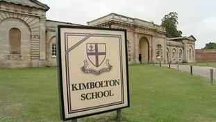 Kimbolton School near Huntingdon.