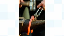 The blacksmith trade has been around for centuriesThe blacksmith trade has been around for centuries