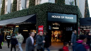 House of Fraser fined £40,000 over misleading  Christmas discounts