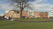 The Cumberland Infirmary in Carlisle.