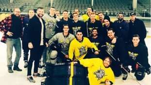 Bieber joins Manchester Storm for second skate session