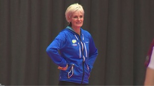 Judy Murray visits Loughborough University to inspire future tennis stars