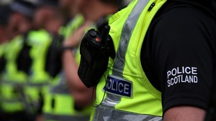 Police Scotland said it was investigating allegations of child sexual abuse