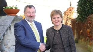 Sturgeon's independence stance lauded by Ireland's Senate