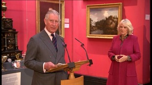 Prince Charles and Duchess of Cornwall visit Cambridge for double celebration