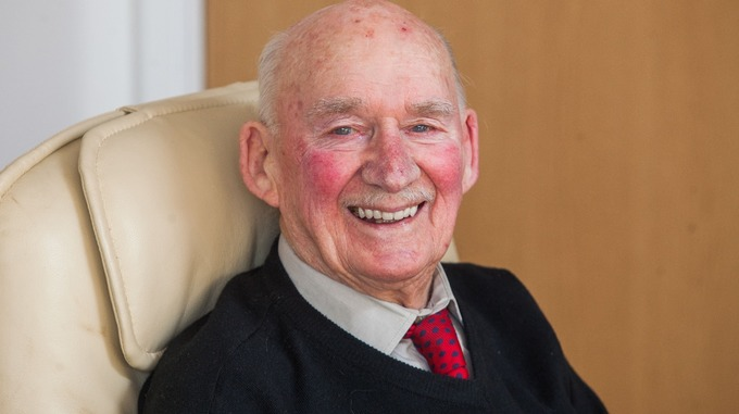 Joe Bartley, 89, was offered work after placing a local paper ad