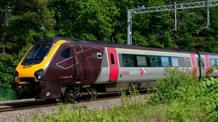 Cross country trains