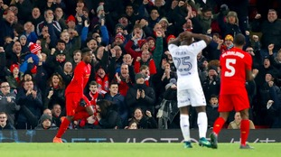 Brave Leeds bow out of EFL Cup after 2-0 defeat at Liverpool