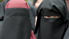 If the senate approves the law, burka's will be banned from schools, hospitals and public transport.