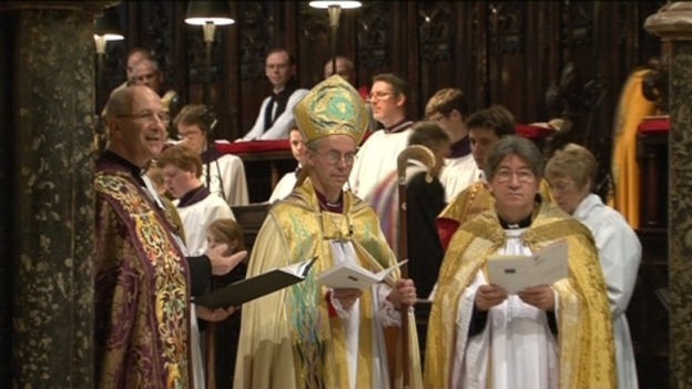 Bishop Justin Welby could be set to become the new Archbishop