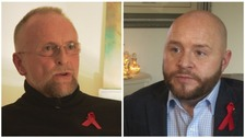 Living with HIV: Two men describe life after diagnosis