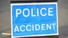 The A47 in Norfolk has been blocked by a crash just outside Norwich