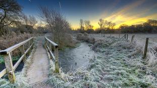 The River Dunn, On Freeman's Marsh Hungerford