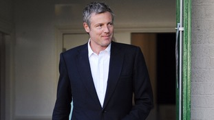 Zac Goldsmith left with shredded trousers after being hit by his own car on campaign trail