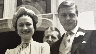 Rare photos of Duke of Windsor and Wallis Simpson's wedding sell for more than £11,400
