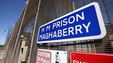 A prisoner has died at Maghaberry on Wednesday.