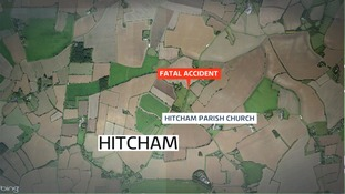 The search for a driver involved in a fatal hit and run in Suffolk continues