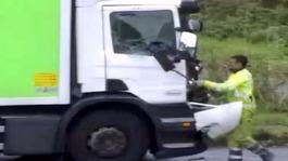M62 road rage attack