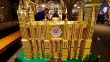 Durham Cathedral's LEGO model