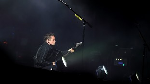 Musician Matthew Bellamy of British band Muse will be performing at Bramham Park