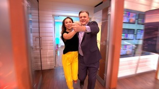 Ed Balls: Putting on spray tan for Strictly was titillating