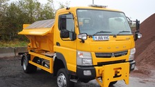 Oldham's new gritter.