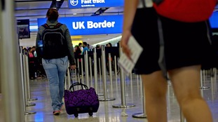 Record number of EU migrants arrived in UK in the year to June, official figures show
