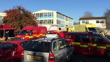 Hampshire school evacuated after chemical incident