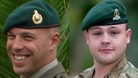 Sergeant Luke Taylor and Lance Corporal Michael Foley.