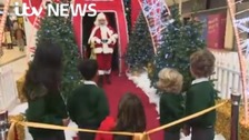 Children love the autism-friendly Santa's grotto