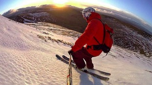 Forget Chamonix, Meribel and St Moritz - this Welsh ski instructor hits the slopes in the Brecon Beacons