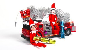 Tyne and Wear Fire and Rescue Service launch Elf on the Shelf safety campaign