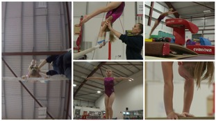 Meet the 9 year old gymnast tipped as a future Olympian