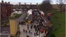 Thousands turn out for Lincoln Christmas Market