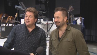 WATCH: Michael Ball and Alfie Boe tell ITV about their new partnership
