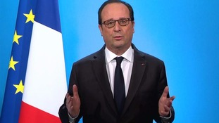 Francois Hollande was made French president in 2012