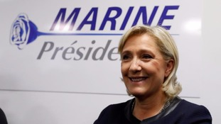 Marine Le Pen of the National Front is running for president