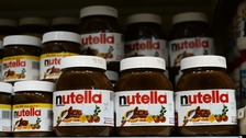 Around £13,000 worth of Nutella was found.