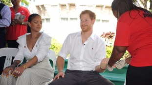 Prince Harry and Rihanna get tested for HIV on World Aids Day