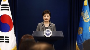 South Korea opposition parties propose motion to impeach President Park Geun-hye