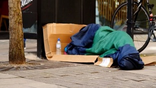 Shelter for rough sleepers in Liverpool