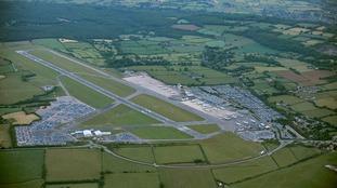Bristol Airport aerial