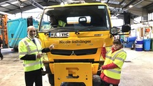 Name of new Oldham road gritter revealed